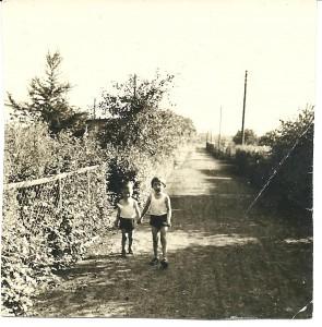 Margit und kleiner Bruder
