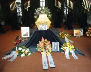 Beerdigung Sascha